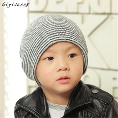 >> Click to Buy << Gigisanny Fashion Baby Striped Hats Beanie Boy Girls Soft Hat Children Winter Warm Kids Knitted Cap Free Shipping,Oct 8 #Affiliate