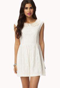 Floral Lace Crochet Dress  Dresses, cocktail dresses, short dresses new   Forever 21