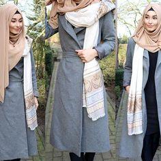 Scarf / Schal / Sal - @muslimshop www.muslim-shop.com  Jacket / Jacke / Ceket - www.misselegance.de in den Größen S M L