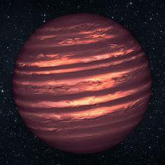 brown dwarf star.