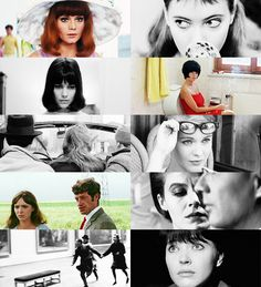 """missavagardner: """" La Nouvelle Vague or The French New Wave was a blanket term coined by critics for a group of French filmmakers of the late 1950s and 1960s, influenced by Italian Neorealism and..."""
