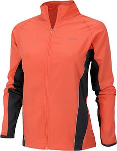 another running jacket. Apricot is bright to, a 'don't run me over' color. Not sure why so much running gear is black. Like, I wanna be a ninja runner?