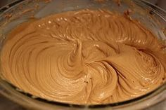 Peanut butter filling for cakes, can't wait to try this with a chocolate cake!