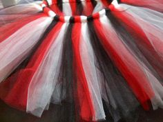 Go Dawgs - 2011 SEC East Football Champions - University of Georgia Bulldogs Girls' Tutu in Red, Black, and White