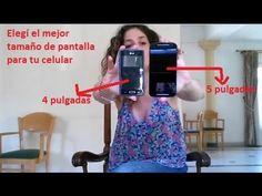Cómo elegir un smartphone según el tamaño de pantalla