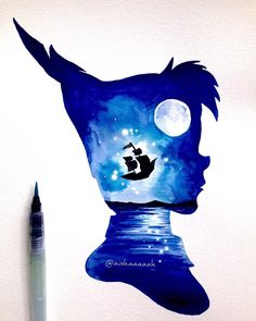 ✤ peinture Peter Pan