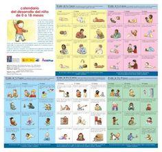 Desarrollo infantil de 0 a 18 meses en diferentes ámbitos