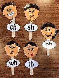 The H Brothers activity is a fun way to introduce your students to digraphs. Remember, digraphs are two sounds coming together to make an entirely new single sound. Because this is sometimes a confusing concept for kids, multisensory props and gestures a Teaching Phonics, Preschool Learning, Literacy Activities, Teaching Reading, In Kindergarten, Teaching Kids, Phonics Games, Reading Lessons, Dyslexia Activities