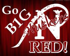 Go Big Red! Nebraska CornHuskers - football  Go Big Red