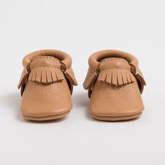 Freshly Picked: Butterscotch | Genuine Leather Moccasins for Kids