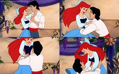 Ariel and Eric. It's because of this movie , that I want a guy to pick me up and twirl just like this.
