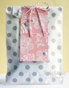 Whisker Graphics, Simon Says Stamp | Gift Bag, Just Because, Thinking of You