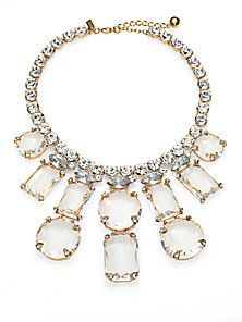 Kate Spade New York - Sparkle Statement Necklace - Saks Fifth Avenue Mobile