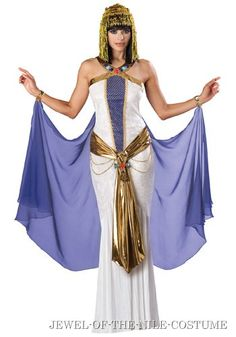 Royal Cleopatra Costume Bring a little taste of Egypt to your Halloween costume party with our royal Cleopatra costume. This adult dress costume is a delu