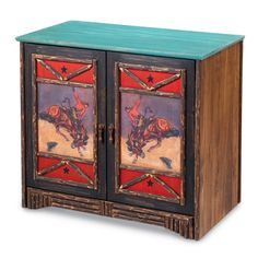 southwestern style painting on furniture | Southwestern Furniture-Old Hickory Furniture-Rustic Ranch Style ...