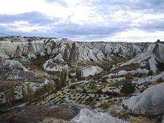 Fairy Chimneys in Cappadocia, Turkey from Where You Wander