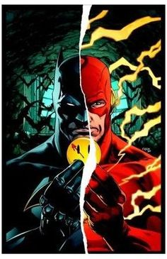 Buy Batman/The Flash by Tom King at Mighty Ape NZ. The road to Doomsday Clock begins here, with the invasion of the Watchmen into the DC Universe! Batman/The Flash The Button Deluxe Edition is the prel. Comic Book Covers, Comic Books Art, Comic Art, Book Art, Flash Crossover, Dc Universe Rebirth, Arte Dc Comics, Joker, Comics