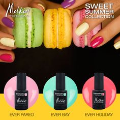 sweet summer collection nails melkior