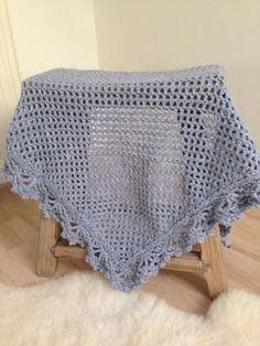 Omslagdoek met wol Julia van Zeeman handmade by @jufSas | Website en blog van juf Sas