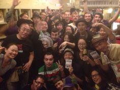 Con nuestros fans en Tokyo!!