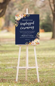 UNPLUGGED CEREMONY    INSTANT DOWNLOAD - DIGITAL PRINTABLE FILE - *No physical sign will be mailed   ♥♥♥ ITEM DETAILS ♥♥♥ - Included file sizes are: - 8 x 10 - 11 x 14 - 16 x 20 - Files are high resolution JPG   ♥♥♥ HOW IT WORKS ♥♥♥ - Simply purchase this listing, download the file