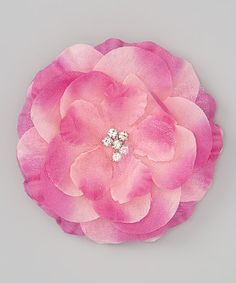 Take a look at this Rose Flower Clip by The Hair Candy Store on #zulily today! http://www.thehaircandystore.com