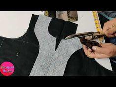 Chudidhar Neck Designs, Neck Designs For Suits, Neckline Designs, Sleeves Designs For Dresses, Dress Neck Designs, Girls Dresses Sewing, Dress Sewing Patterns, Dress Designs For Stitching, Sewing Collars