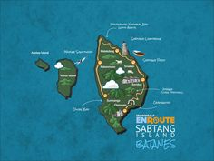 Updated Batanes Maps of Batan, Sabtang and Itbayat Islands Bohol, Palawan, Batanes, Siargao, Cebu, Manila, Philippine Map, Travel Local, Island Map