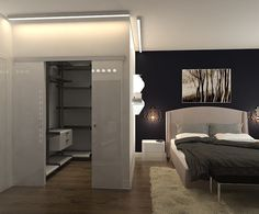 Trendy Ideas for master bedroom closet doors home