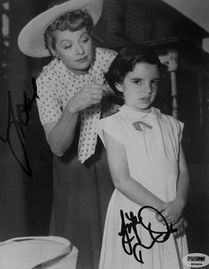 Lucille Ball and little Liza Minnelli