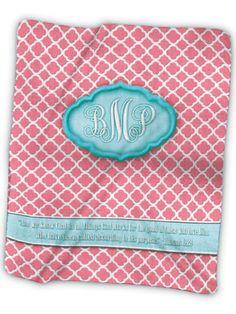 Monogram 1A Fleece Blanket