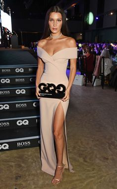 Bella Hadid from 2016 GQ Men of the Year Awards  Brunette beauty won for Hugo…
