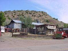 Madrid, New Mexico  This is the mining town my grandfather, uncles, and great grandfather worked in until the 40's