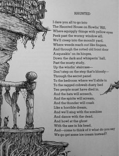 Funny love poems shel silverstein 58 Ideas for 2019 Creepy Poems, Funny Poems, Halloween Quotes, Halloween Poems For Kids, Halloween Stories, Halloween Images, Shel Silverstein Quotes, Poems About School, Poetry For Kids