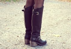 Pinterest: @icristy13| boots! Love Boots