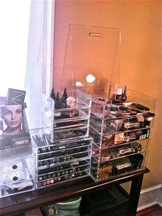 Top makeup collection, #clearcube #originalbeautybox #muji