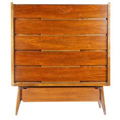 Hokewood Highboy Chest of Drawers | From a unique collection of antique and modern commodes and chests of drawers at http://www.1stdibs.com/furniture/storage-case-pieces/commodes-chests-of-drawers/