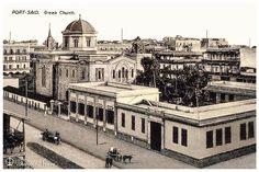 Port Said - Greek Church In 1900's