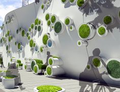 Eco Architecture: Symbiotic Green Wall makes construction sites sustainable - Promoting Eco Friendly Lifestyle to Save Enviornment - Ecofriend