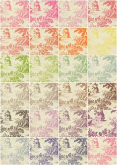 french toile | french toile wallpaper