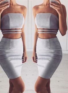 Now available on the site: Bossy Sleeveless ... Check it out here! http://shopdgcouture.co/products/bossy-two-piece-suede-skirt-set?utm_campaign=social_autopilot&utm_source=pin&utm_medium=pin