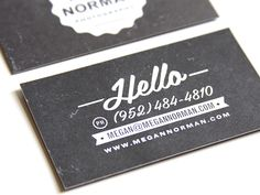 Custom Business Card Design 50 Deposit by DapperPaper on Etsy