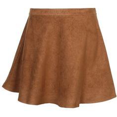 New Look Inspire Mini skirt (115 BRL) ❤ liked on Polyvore featuring skirts, mini skirts, bottoms, saias, camel, print skirt, patterned mini skirt, pattern skirt, zipper mini skirt and short mini skirts