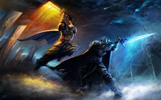 Jeu vidéo : Warcraft /  Illustration de Yanmo Zhang   / http://www.blizz-art.com/illustration/2892/