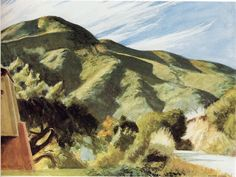 California Hills by Edward Hopper