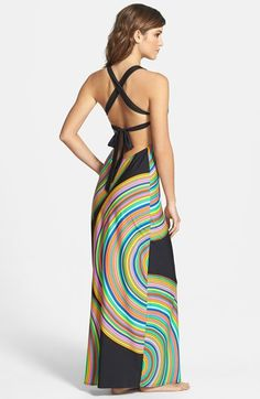 Trina Turk 'Sombrero' Cover-Up Maxi Dress available at #Nordstrom