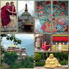 Nepal  -   layout  met foto's