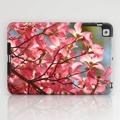 Pink Dogwood Flower iPad Case   - $60.00