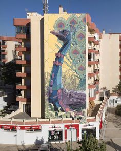 Aryz New Mural In Sanlúcar de Barrameda, Spain StreetArtNews