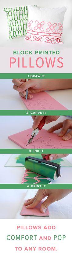 Block Printing Kit | #darbysmart